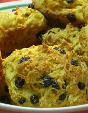 Biscuits aux carottes et raisins (Minçavi)