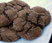 Biscuits au gingembre chocolat