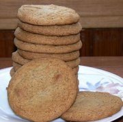 Biscuits au gingembre 2