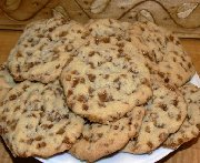 Biscuits aux bouchées de caramel