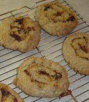 Biscuits roulés aux dattes