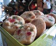 Biscuits aux fruits et aux amandes