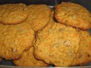 Biscuits aux carottes et beurre d'arachide