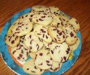 Biscuits de noël aux canneberges de Manger avec mo