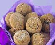 Biscuits givrés aux dattes et au gingembre
