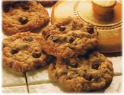Biscuits au gruau et noix de coco à l'ancienne