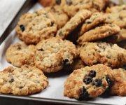 Biscuits moelleux à l'avoine et bleuets