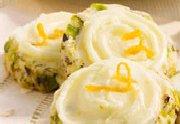Biscuits réfrigérés à l'orange et aux pistaches