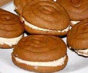 Biscuits sandwiches à la citrouille