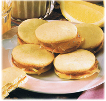 Biscuits-Sandwichs au citron
