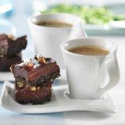 Bouchées de chocolat fondant et croustillant de noix de coco
