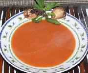 Bouillon à la tomate