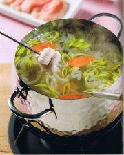 Bouillon pour fondue à la volaille