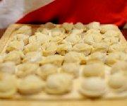Boules de pâte farcies au porc haché  Siu Mai