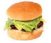 Hamburger au boeuf et aux champignons