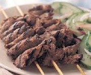 Brochettes de boeuf grillé thaï