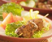 Brochettes de dindon à la pâte de cari Tandoori Patak's
