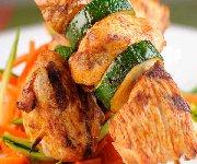 Brochettes de poulet satay 2