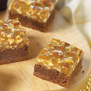 Brownies au caramel et aux pacanes 1
