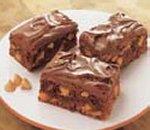 Brownies Irrésistibles aux Grains au Beurre d'Arachides