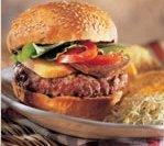 Burger d'agneau du Québec