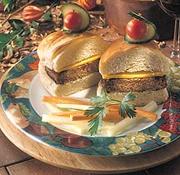 Burgers végétariens aux noix d'acajou