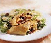 Calzone aux légumes et au salami de Calabre