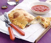 Calzones aux trois fromages