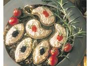Canapé crémeux saumon fumé au fenouil