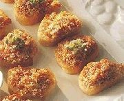 Canapés de prosciutto au parmesan