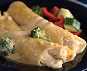 Cannellonis rapides au poulet