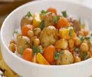 Cari de pommes de terre aux légumes