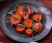 Carottes rôties au sucre d'érable