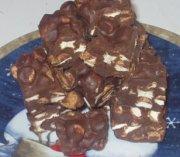 Carrés aux guimauves et beurre d'arachide