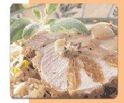 Carré de porc aux abricots séchés