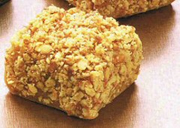 Carrés au beurre d'arachide