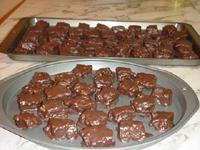Carrés au chocolat (Franden)