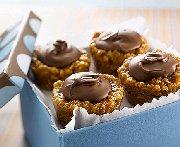 Carrés ou coupes au beurre d'arachide et au chocolat