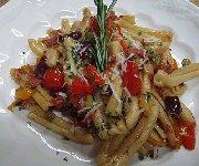 Casarecce piquante au olive et tomate