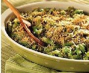 Casserole de haricots verts aux herbes