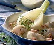 Cassolette de lotte aux crevettes et au fenouil