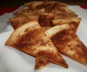 Chips sucré à la cannelle