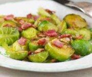 Choux de Bruxelles au bacon
