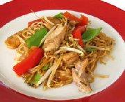 Chow mein au poulet 2