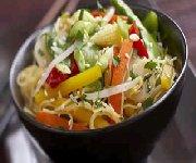 Chow Mein aux légumes de dernière minute