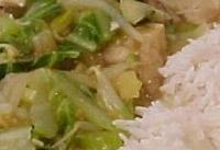 Chow mein au poulet 1