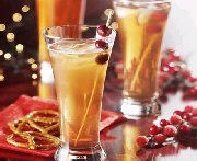 Cocktail à la bière et aux canneberges
