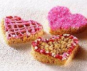 Coeurs de la Saint-Valentin aux RICE KRISPIES