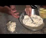 Comment faire et rouler une pâte à tarte