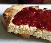 Confiture de fraises et de pommes